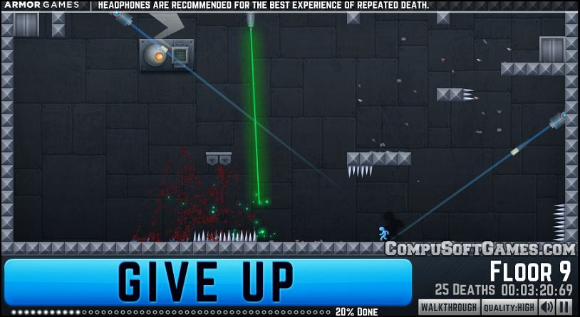 give up browser game