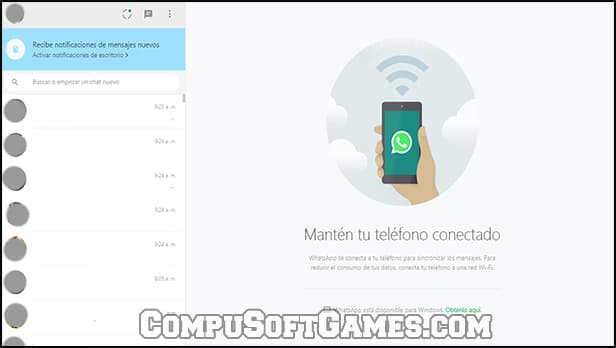 whatsapp web sin movil